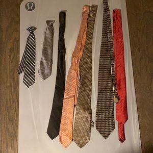 Tied up in ties